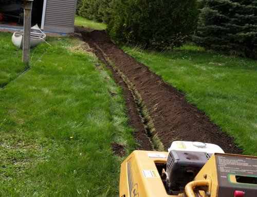 Trenching Power To Detached Garage